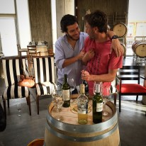 great friends and great wines. Sebastian and Matias